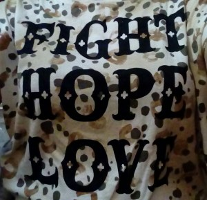 Fight, hope, love