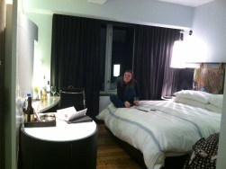 Source: Myself; our fancy hotel room.
