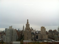 Source: Myself; The view from the NYU building (in which the conference was being held) that made me want to cry and transfer to NYU.