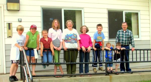 Beauclairs with grandkids (3)B