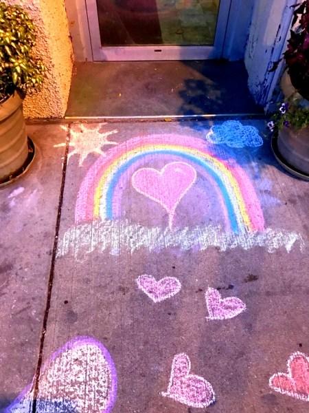 sidewalkrainbow
