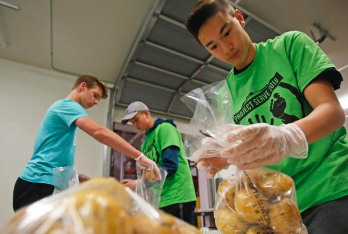 Faith Conversations:  Project Serve combines service with fundraising