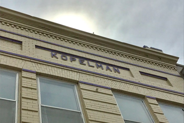 Sidewalk Stories: Kopelman Building used to be life-giving