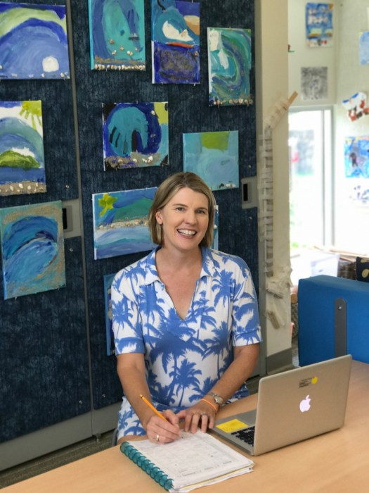 Stacey Olson, First Grade Teacher, Punahou School