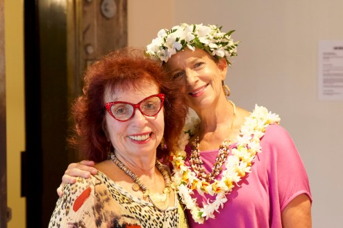 Hermine Harman & Roxanne Darling, photo by Shane Robinson