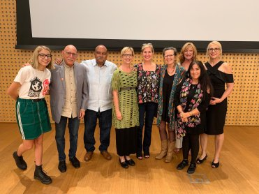 all the poets and speakers at the Norton museum of art event on climate change