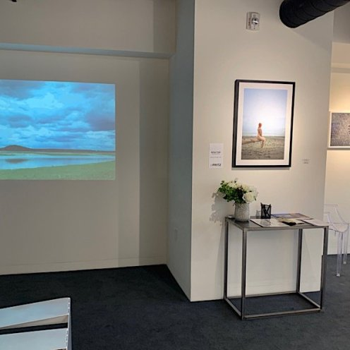 photo from roxanne darling solo show - meditation video