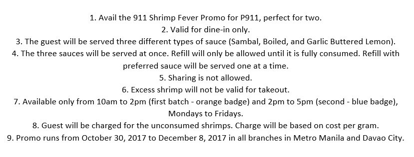 P911 Unlimited Shrimps Blue Posts Mechanics