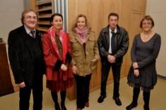 Réjean Bergeron, Marie Pelletier, Serge Arcuri, Line Villeneuve