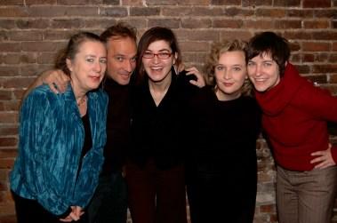 Le Sonarium avec Diane Labrosse, André Hamel, Micheline Clouard et Julie St-Arnault (Vlan paysages). Photo:Frédéric-Georges Liguez