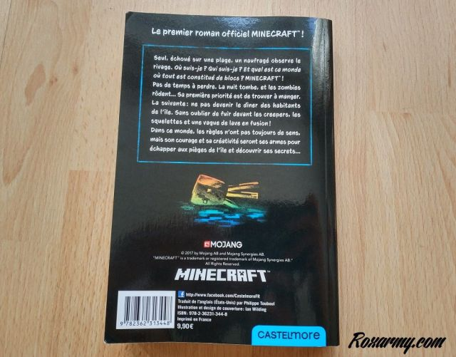 Minecraft l'île perdue