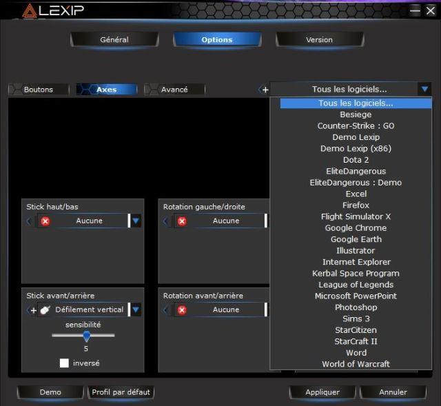 Lexip 3DM-Pro driver software
