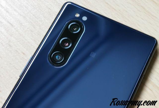Sony Xperia 5 caméras