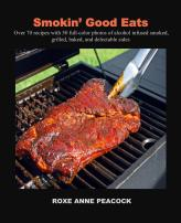 Smokin' Good Eats cookbook front cover
