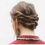 vintage hairstyle twist