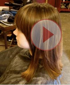 DIY hair video