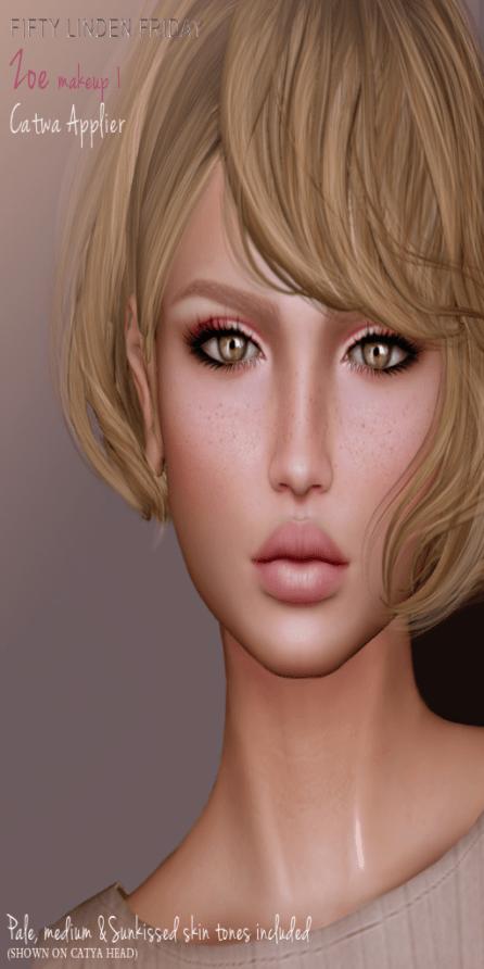 -Belleza- Zoe FLF Makeup 1 Ad
