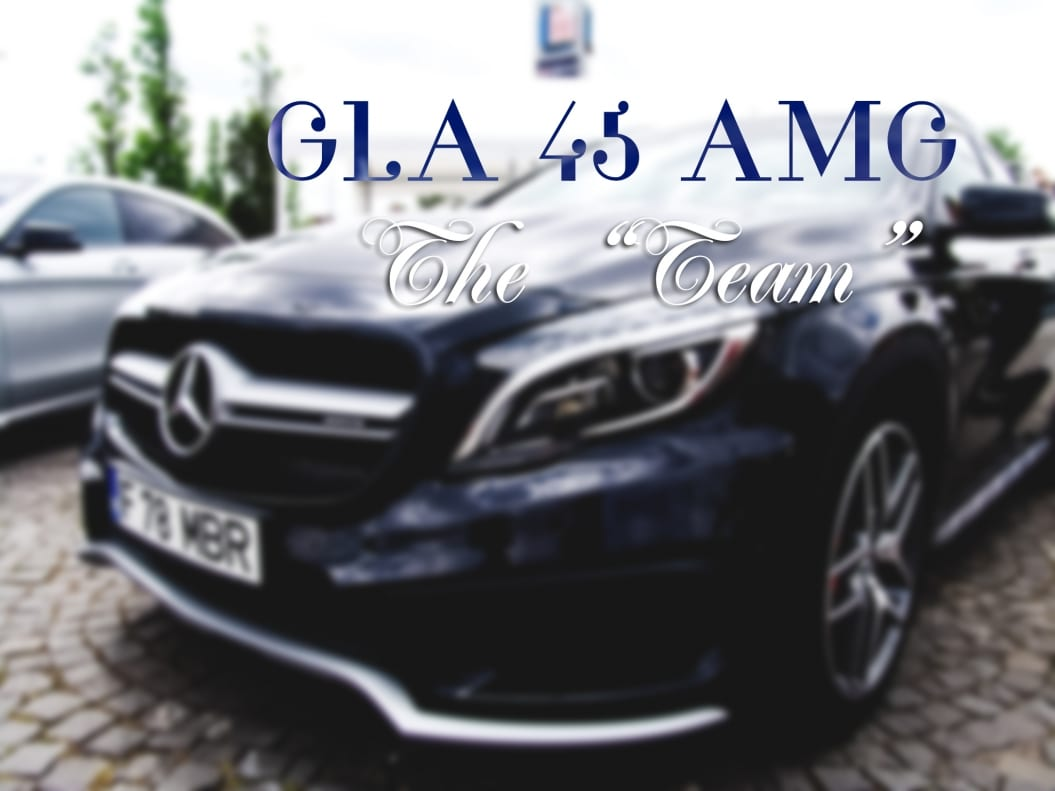 GLA 45 AMG – The Partner