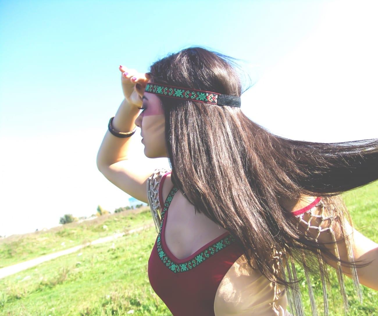 roxi rose fashion blog romania halloween indian native costume wildfashion (2)