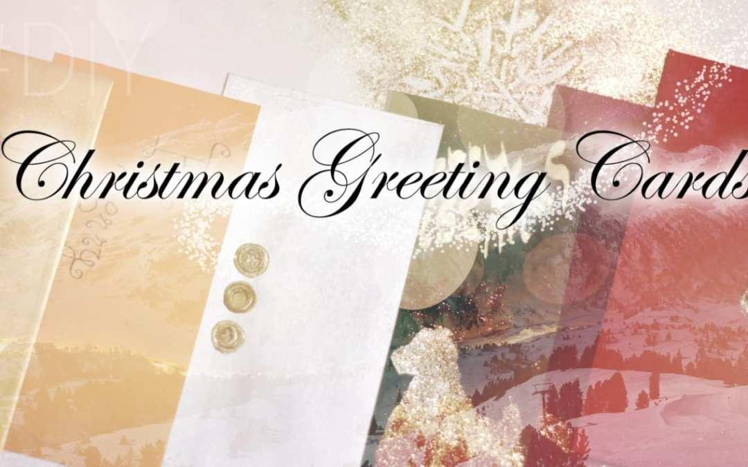 #DIY Christmas Greeting Cards