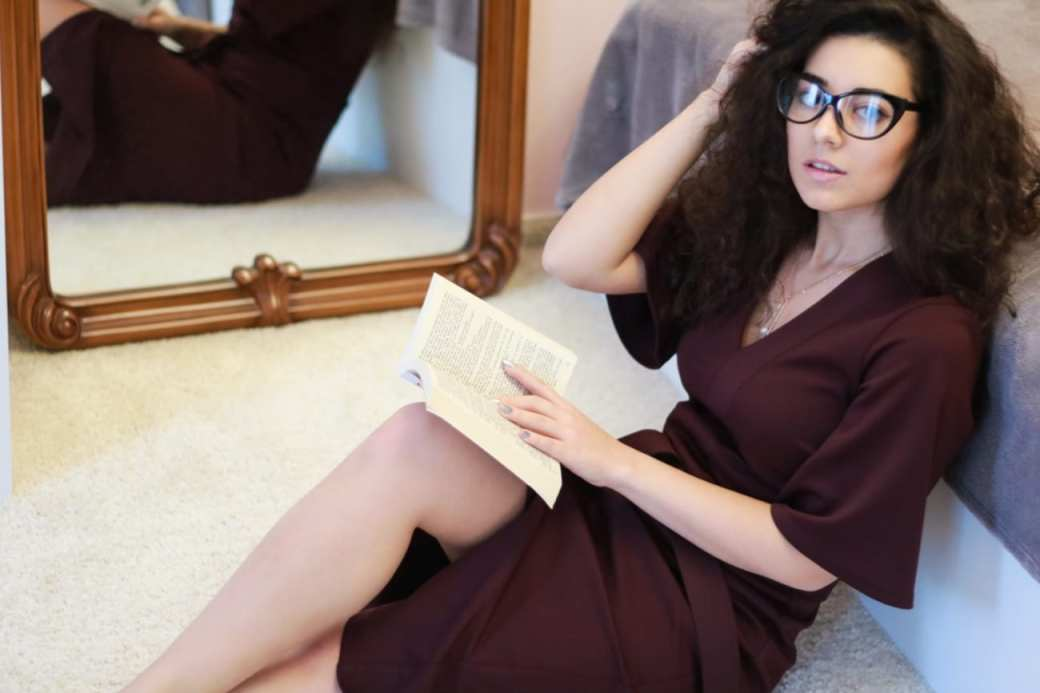 blogger life rochie visinie dama burgundy dress womanfashion.ro calitate quality material