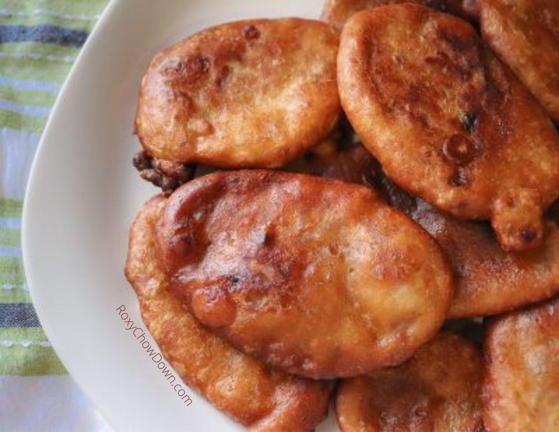 Jamaican Banana Fritters Recipe by RoxyChowDown.com