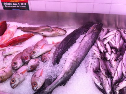 Big & Small, at the fish mongers in my 'hood.