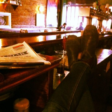Lazy Day at The Taps