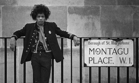 Jimi Hendrix in London