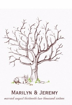 https://www.zazzle.com/wedding_fingerprint_tree_dog_canvas_print-192868894848121059