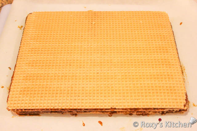 Wafer Sheets Filled With Caramelized Sugar And Walnut Cream Roxys Kitchen