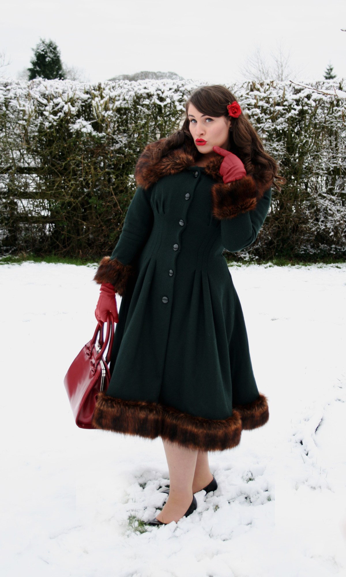 The Vintage Style Coat Of My Fashion Fantasies Roxy Vintage Style