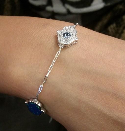 Bracelet Hamsa Silver Roya Jewels