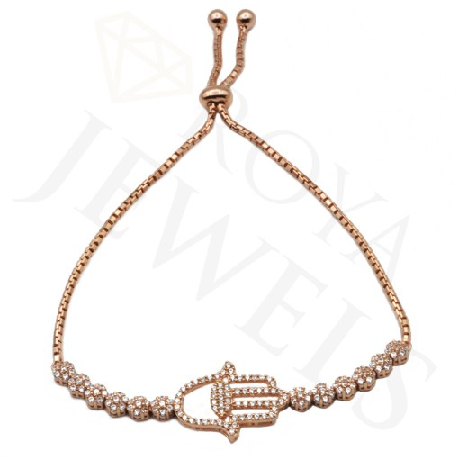 Necklace Rose Hamsa Roya Jewels