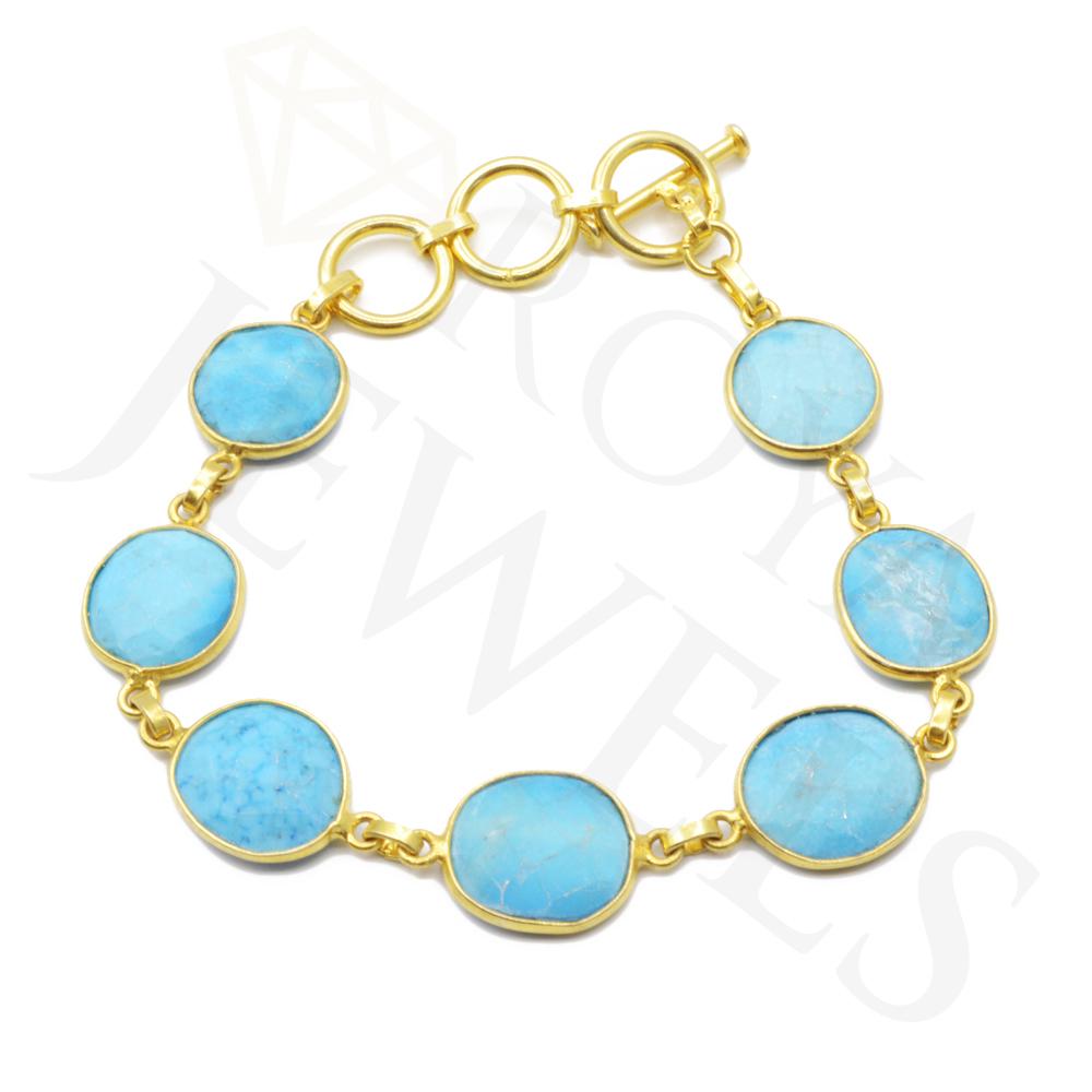 Memory Wire Cuff Bracelet Shiny Item # B030 Black Onyx Wrap Bracelet Turquoise Howlite Beaded