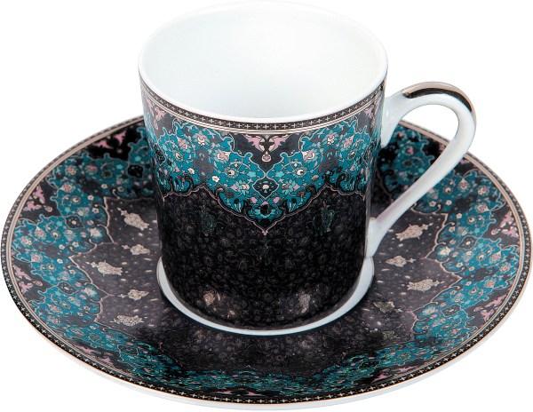 Tasse café - Dhara bleu