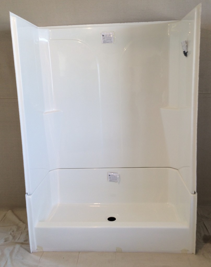 Surround And Shower Pan 30x60