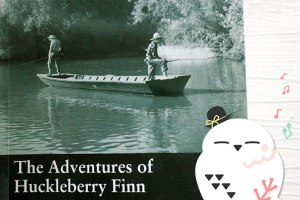マクミランリーダーズ, macmillan readers, beginner, level 2, the adventures of huckleberry finn, ハックルベリー・フィンの冒険