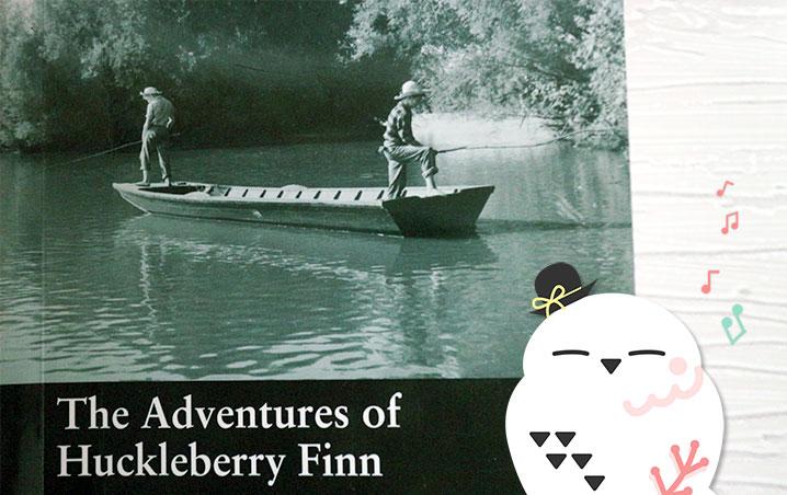 マクミランリーダーズ, macmillan readers, beginner, level 2, the adventures of huckleberry finn, ハックルベリー・フィンの冒険