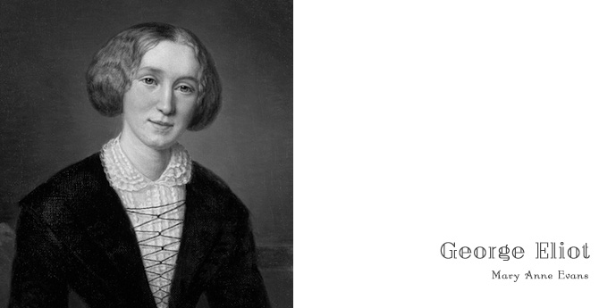 ジョージ・エリオット, George Eliot, Mary Anne Evans, メアリー・アン・エヴァンズ, フロス河の水車場, The Mill on the Floss, 肖像画
