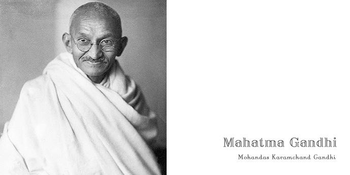 マハトマ・ガンジー, Mahatma Gandhi, Mohandas Karamchand Gandhi, 伝記, 英語多読, 非暴力・不服従, インド独立の父