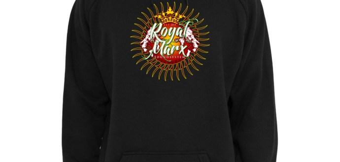 Royal Marx Hoodie Black