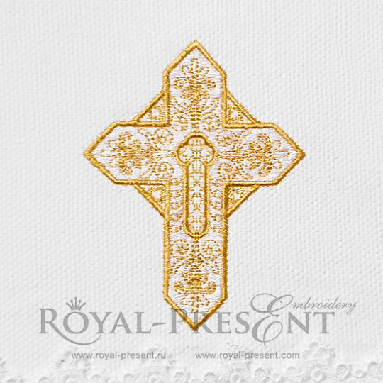 Дизайн вышивки royal