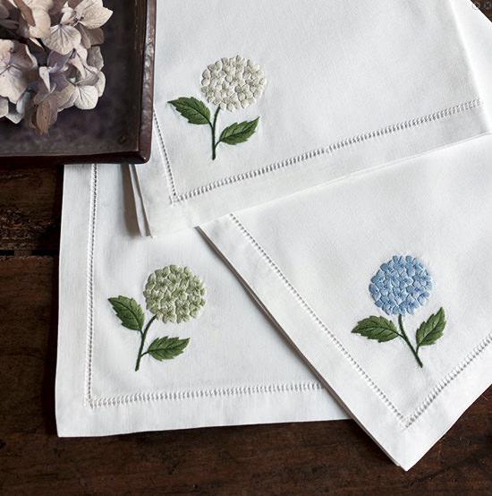 Дизайн машинной вышивки Гортензия