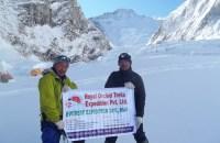 エベレストキャンプ2 (6400m)