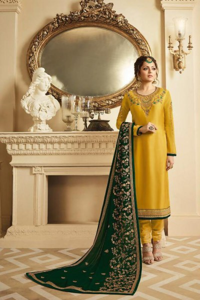 decorative-yellow-color-georgette-with-embroidery-work-salwar-suit