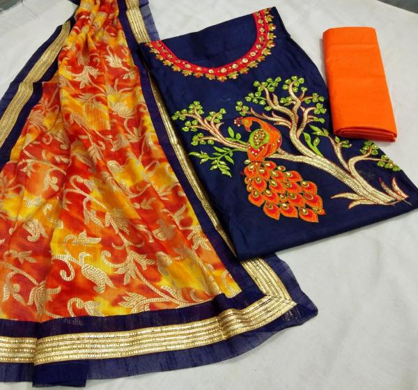 alluring-navy-blue-color-heavy-modals-silk-festival-wear-dress-material