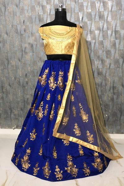 mesmerizing-blue-color-taffeta-silk-zari-embroidered-work-lehenga