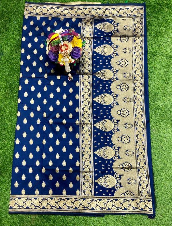 navy-blue-banarasi-silk-weaving-jacquard-saree-with-heavy-rich-zari-pallu