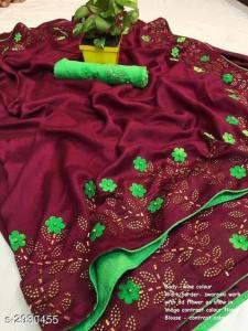 effective-purple-color-zoya-silk-with-swaroski-diamond-work-border-saree